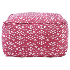 Eclectic Footstools And Ottomans by John Robshaw Textiles