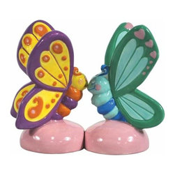 WL - 3.25 Inch Kitchenware Butterflies Figurines Salt and Pepper Shakers - This gorgeous 3.25 Inch Kitchenware Butterflies Figurines Salt and Pepper Shakers has the finest details and highest quality you will find anywhere! 3.25 Inch Kitchenware Butterflies Figurines Salt and Pepper Shakers is truly remarkable.