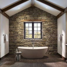 Eldorado Stone - Imagine - Before and After - The RusticWall