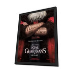 Rise of the Guardians 27 x 40 Movie Poster - Style A - in Deluxe Wood Frame - Rise of the Guardians 27 x 40 Movie Poster - Style A - in Deluxe Wood Frame.  Amazing movie poster, comes ready to hang, 27 x 40 inches poster size, and 29 x 42 inches in total size framed. Cast: