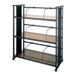Dainolite - Dainolite DBS-326-BZ-OBB Oil Brushed Bronze Elegant Bookcase Bronze Glass - Dainolite DBS-326-BZ-OBB Oil Brushed Bronze Elegant Bookcase Bronze Glass