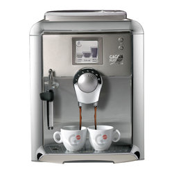 Gaggia - Gaggia Platinum Visiom - The Gaggia Platinum Vision uses a Rapid Steam boiler system, utilizing a stainless steel boiler so you can switch back and forth between brewing and steaming in mere moments, without lengthy cool down or heat up time in between. This system provides the power behind each shot of espresso, fine tuning and perfecting the temperature. As for the water pressure, the Gaggia Platinum Vision provides a maximum of 15 bars of pressure, more than what you'll need to pull each shot.