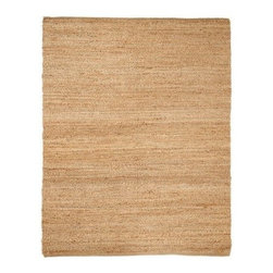 Anji Mountain AMB103 Portland Jute Rug - Update your living surroundings with the cozy, woven texture of the Anji Mountain AMB103 Portland Jute Rug. Available in select color and size options, this area rug is crafted of 100% jute materials that are long-lasting.About Anji Mountain Bamboo Rug Co.Anji Mountain Bamboo rugs and office chair mats are ecologically friendly. Bamboo has a robust root system that generates multiple new shoots for every mature stalk that is harvested. Unlike hardwood that can take decades to grow to a mature height ready for harvest, bamboo grows 8-12 feet a year! When you purchase a rug or office mat from Anji Mountain Bamboo Rug Co., you help support the ecologically responsible practice of regulating sustainable bamboo forests instead of clear-cutting old-growth hardwood forests.The dense, durable bamboo that Anji Mountain Bamboo Rug Co. uses is carbonized and kiln dried to remove moisture, which helps prevent cracking and warping. Because of this process, their bamboo rugs and office chair mats are ready to withstand the dry heat of your home or office in the wintertime or the arid climate of those living in the desert and mountains.
