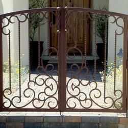 Wrought Iron Walk Gates -