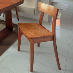 """Gold Sparrow - Emily Side Chair (Set of 2) - Modern design dining chair offers luxurious feel and style from every angle. It features unique contemporary looks and offers ultimate comfort. This one of a kind dining chair will add a fresh look to any home. Features: -Set includes two dining chairs.-New oak finish.-Collection: Emily.-Finish: New oak.-Distressed: No.-Powder Coated Finish: No.-Gloss Finish: No.-Frame Material: Solid wood / Wood veneer.-Solid Wood Construction: No.-Scratch Resistant: No.-Arms Included: No.-Upholstered Seat: No.-Upholstered Back: No.-Swivel: No.-Foldable: No.-Stackable: No.-Number of Legs: 4.-Leg Material: Wood.-Casters: No.-Protective Floor Glides: No.-Adjustable Height: No.-Outdoor Use: No.-Swatch Available: No.Dimensions: -Overall Height - Top to Bottom: 32.48"""".-Overall Width - Side to Side: 18.9"""".-Overall Depth - Front to Back: 20.28"""".-Seat Height: 18.11"""".-Overall Product Weight: 35 lbs.Assembly: -Assembly Required: Yes.-Tools Needed: Allen wrench included.-Additional Parts Required: No."""