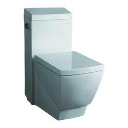 "Atlas International - Ariel Platinum ""Aphrodite"" Contemporary One Piece White Toilet - Ariel Platinum ""Aphrodite"" Contemporary One Piece White Toilet 27.8x15x31.9"
