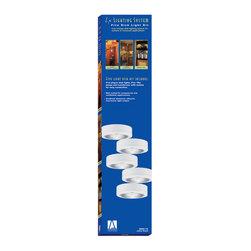 Sea Gull Lighting - Sea Gull Lighting 9890- Ambiance LX Light Plug-in Puck Kit - Sea Gull 9890-12 Black Under Cabinet Lighting