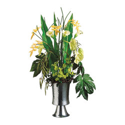 "Silk Plants Direct - Silk Plants Direct Calla Lily, Heliconia and Anthurium (Pack of 1)"" - Silk Plants Direct specializes in manufacturing, design and supply of the most life-like, premium quality artificial plants, trees, flowers, arrangements, topiaries and containers for home, office and commercial use. Our Calla Lily, Heliconia and Anthurium includes the following:"