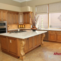 Traditional Kitchen -