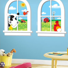 contemporary kids decor by Wall 2 Wall Stickers
