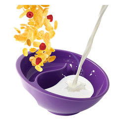 "Obol, LLC - Obol, Purple - The Obol will make you say ""oh boy"" every time you take a bite of cereal. That's because it keeps your cereal from getting soggy. From your first dip till the last bite, your cereal will keep its crunch, and you'll wonder why you lived without this for so long.e in USA."