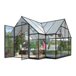 Palram Chalet Greenhouse - I am dreaming now, but I would love a greenhouse of my own!