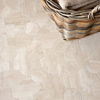 Chatham 1 Stone Mosaic - Chatham 1, a natural stone waterjet mosaic, is shown in Durango honed.