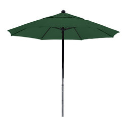 California Umbrella - 7.5 Foot Sunbrella Fabric Fiberglass Frame Pulley Lift Patio Market Umbrella - California Umbrella, Inc. has been producing high quality patio umbrellas and frames for over 50-years. The California Umbrella trademark is immediately recognized for its standard in engineering and innovation among all brands in the United States. As a leader in the industry, they strive to provide you with products and service that will satisfy even the most demanding consumers.