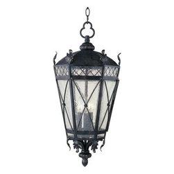 Maxim Lighting - Maxim Lighting 30459CDAT Canterbury 3-Light Outdoor Hanging Lantern - Features