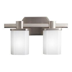 Kichler Lighting - Kichler Lighting 5052NI Lege Nickel 2 Light Vanity - Kichler Lighting 5052NI Lege Nickel 2 Light Vanity