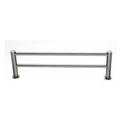 "Top Knobs Hardware - Hopewell Bath 30"" Double Towel Rod - Length - 31 1/2"""