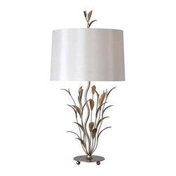 Ren Wil - Ren Wil LPT407 Brienne 1 Light Table Lamp - Features:
