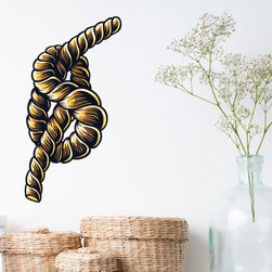 Symbol Rope Vinyl Wall Decal SymbolRopeUScolor005; 72 in. - Vinyl Wall Decals are an awesome way to bring a room to life!