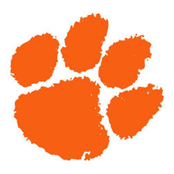 Trademarx Wall Decor - NCAA Clemson Tigers Large Wall Accent College Mural Decal - Features: