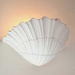 Renovators Supply - Sconces White Urethane Wall Sconce - Wall Sconce Polyurethane Foam White.
