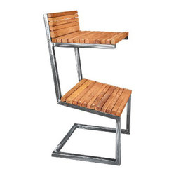 Handmade Sit & Spring Barstool - Put a little spring in your drink with this unique and hardwearing barstool. Handmade using carbon steel and oak wood, it provides a fun place to perch that also gives some much-needed relief to your lower back.