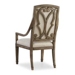 Hooker - Hooker Solana Host Chair Set of 2 - Hooker Furniture Solana Host Chair (Set of 2) 5291-75501