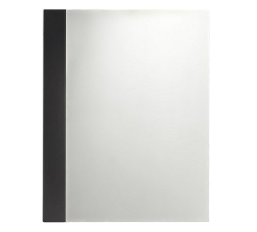 American Standard - American Standard 9205.101.339 Studio Mirror, Cream. - This American Standard 9205.101.339 Studio Mirror is part of the Studio collection, and comes in a beautiful Espresso finish. This miror is designed to be used with the Studio Series vanities, and is made of birch veneer, with brushed nickel plated legs.