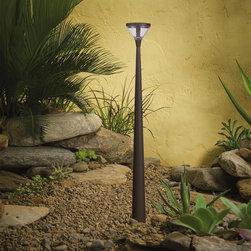 Kichler Lighting - Kichler Lighting 15804AZT Landscape 12v 6 Light Pathway Lighting in Textured Arc - Baton LED path light