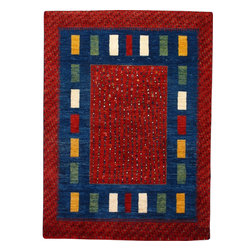 Gabbeh Rug - A beautiful Gabbeh with an allover style.