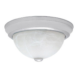 Capital Lighting - Capital Lighting 2711 2 Light Flush Mount Ceiling Fixture - Capital Lighting 2711 2 Light Flush Mount Ceiling FixtureWith a classic outline and beveled metal ring base, this classic design is 11 inches in diameter and features two 60 watt medium base sockets for incandescent or fluorescent bulbs and will add a touch of style to any home.Capital Lighting 2711 Features: