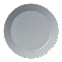 "iittala - Teema 6.75"" Bread and Butter Saucer Pearl Grey (Set of 3) - This series is highly versatile; every piece is designed with a practical and functional aspect. Mixing these features and combining them with other dishes will give you an endless range of innovative colorful table settings. An ideal accompaniment to the entire iittala range, Teema fits in well at family gatherings as well as in more formal settings. Teema is one of Scandinavia's most highly appreciated collections; an undisputed classic that can be found in a number of design museums worldwide. Features: -Crafted of Porcelain. -Freezer, microwave, oven and dishwasher safe. -Diameter: 6.75""."