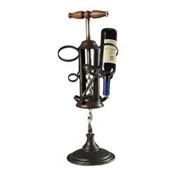 Sterling Industries - Bordeaux Wine Rack - Bordeaux Wine Rack in Mayfield Bronze by Sterling Industries