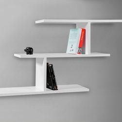 Misi Wall Shelf White - Decortie