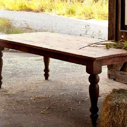 Park Hill Collection Pine Furniture - Old Pine Farm Table