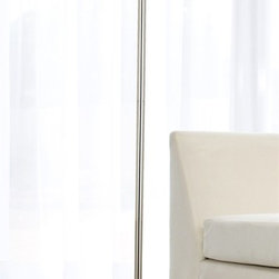Kenroy - Kenroy 20963BS Cordova Transitional Floor Lamp - The unique Silver shade of Cordova has illuminated circles that have lace-like cut-outs reminiscent of tree branches.  This shimmery lamp brings a playful spirit to the quality of its light.