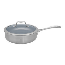 Henckels Spirit 3 Qt. Saut Pan with Lid - Thermolon Coated