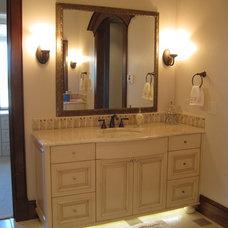 Traditional Bathroom by Aneka Interiors Inc.