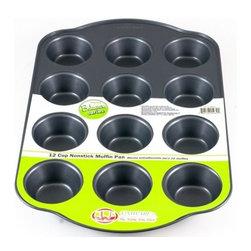 Uniware - Muffin Pan - 12 Cups Muffin Pan (0.4 mm)