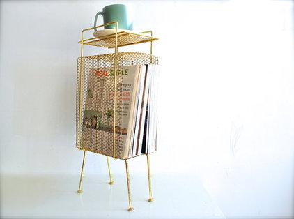 Modern Magazine Racks by Etsy