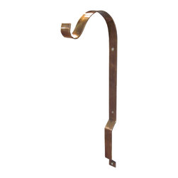 Riado - Floating Wall Bracket Antique Brass - Our products are handcrafted using high quality materials. Slight variations and imperfections are expected and are the inherent beauty of these items.