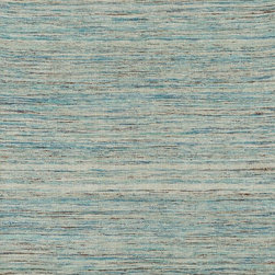 "Loloi Rugs - Loloi Rugs Oliver Collection - Aqua, 3'-6"" x 5'-6"" - The Oliver Collection is a Jacquard-woven dhurrie line that features effervescent polyester silk in a series of colorscapes that will update any interior. Available in six colors: mulberry, mediterranean, lava, marine, charcoal, and aqua, each rug has a captivating and luxurious sheen."