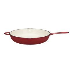 "Dansk - Dansk Mario Batali by 14"" Chianti Open Saute - This open saute pan by chef Mario Batali is a versatile one. It heats up fast,retains heat and eliminates hot spots that burn foods"