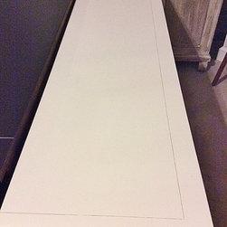 Century Asian Inspired 9 Drawer Dresser - Faux Bamboo - White - Century Asian Inspired 9 Drawer Dresser (Faux Bamboo)