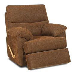 Klaussner Furniture - Bristol Swivel Rocking Reclining Chair - 69903H-SRRC - Bristol Collection Swivel Rocking Reclining Chair