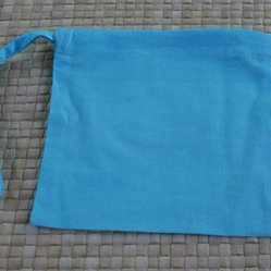 People Towels - PeopleTowels EcoSack, Blue - You bought the ecofriendly kitchen towels and got rid of the paper towel roll. Now what? This pouch keeps your new towels neat and tidy in your kitchen drawer, on the counter or in your diaper bag. You can even hang it near the sink for easy access.
