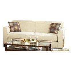 Chelsea Home Furniture - Chelsea Home Clark Sofa in Dum Dum Natural - Clark sofa in Dum Dum Natural belongs to the Chelsea Home Furniture collection