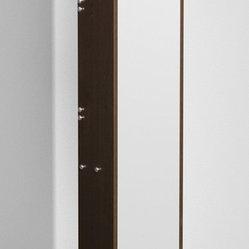 Wyndham - Amare Wall Storage Bathroom Cabinet in Espresso - Meet another stunning Wyndham ...