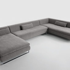 Contemporary Sectional Sofas by The Collection German Furniture