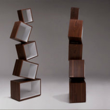 modern bookcases by Malagana Design